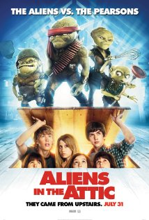 Movie Review Of Aliens In The Attic Australian Council On Children And The Media