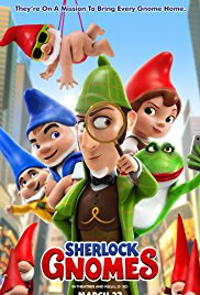 Movie review of Sherlock Gnomes - Australian Council on Children and