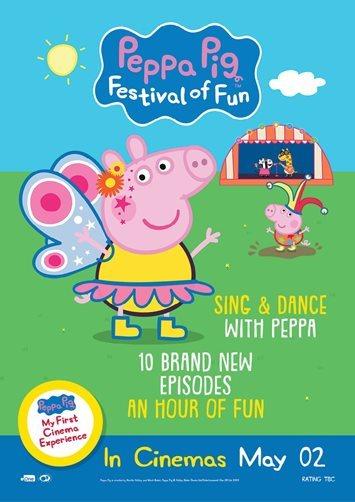 Movie review of Peppa Pig: Festival of Fun - Australian