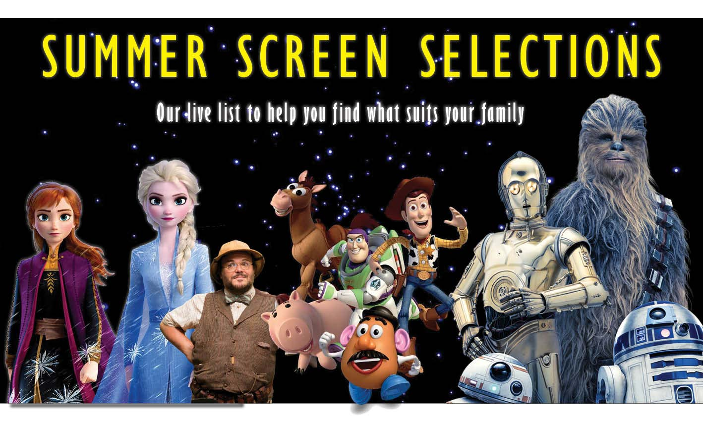 Summer screen selections banner image
